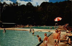 Fancher Pool Postcard