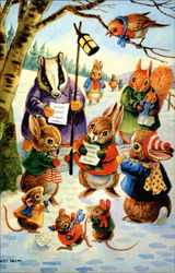 Various Small Animals Caroling
