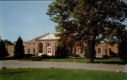 Hanover College Lynn Hall Postcard