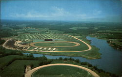 Aerial View of Ocean Downs Raceway