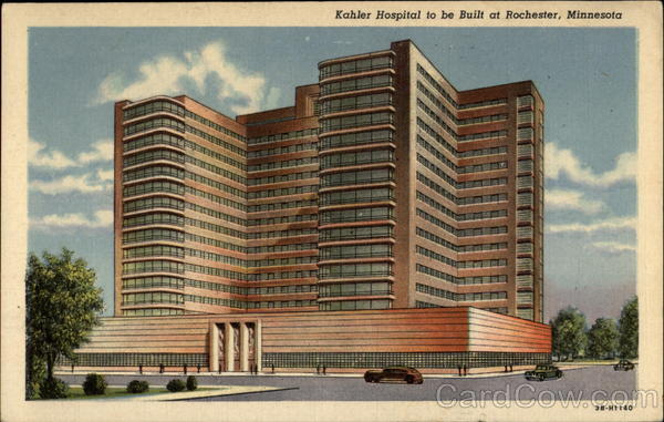 Kahler Hospital to be Built at Rochester Minnesota