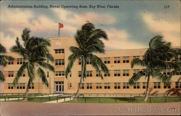 Administration Building, Naval Operating Base Key West Florida
