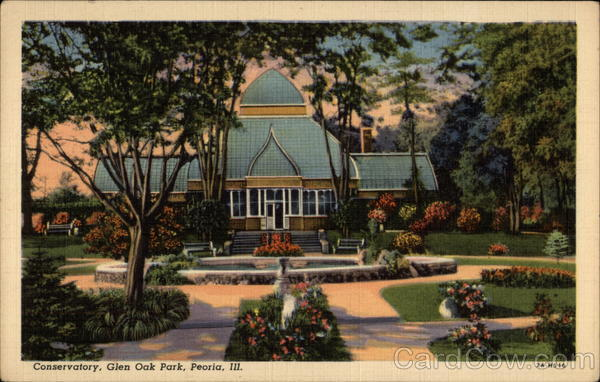 Conservatory glen oak park peoria il for Oak glen park