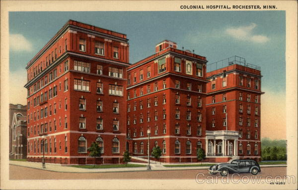 Colonial Hospital Rochester Minnesota