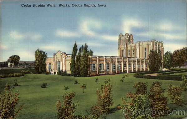 Cedar Rapids Water Works Iowa