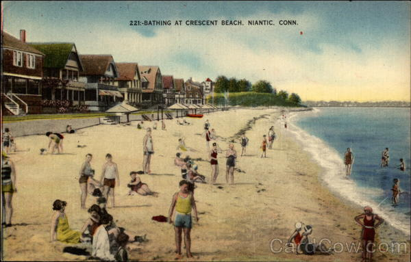 Bathing at crescent beach niantic ct sciox Choice Image