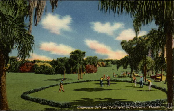 Clearwater Golf and Countrey Club Florida