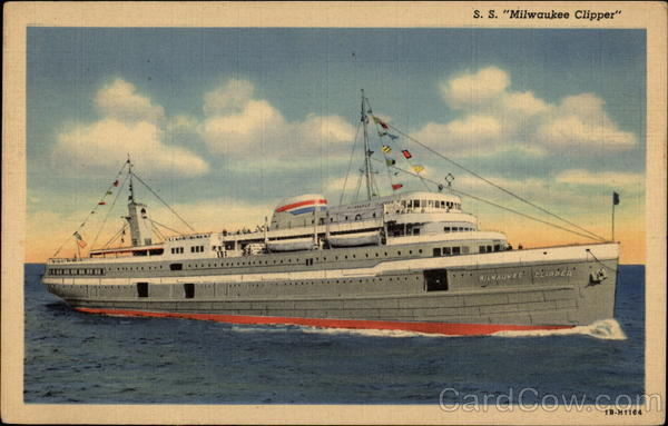 S. S. Milwaukee Clipper Boats, Ships