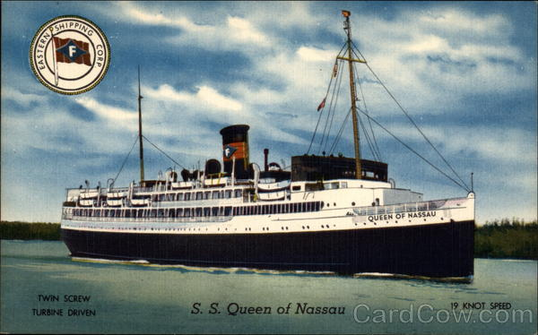 S.S. Queen of Nasau Boats, Ships