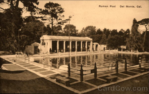 Roman Pool Del Monte California