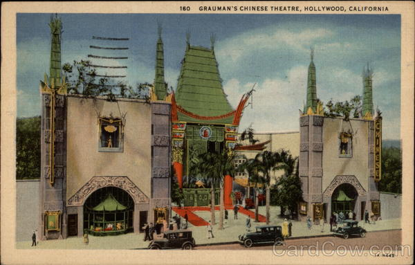 160 - Grauman's Chinese Theatre Hollywood California