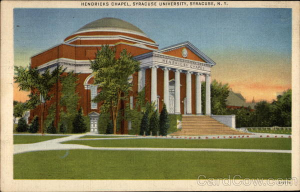 Hendricks Chapel, Syracuse University New York