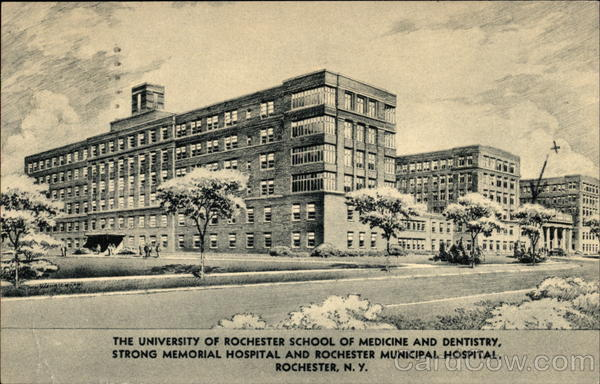 Town Of Monroe Ny >> Strong Memorial Hospital and Rochester Municipal Hospital New York