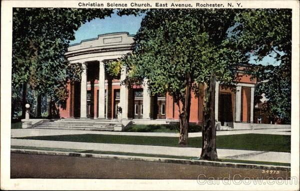 Christian Science Church, East Avenue Rochester New York