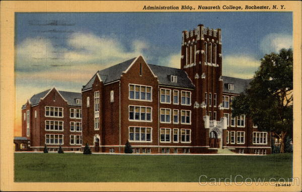 Nazareth College Administration Building Rochester New York
