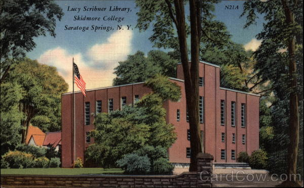 Lucy Scribner Library, Skidmore College Saratoga Springs New York
