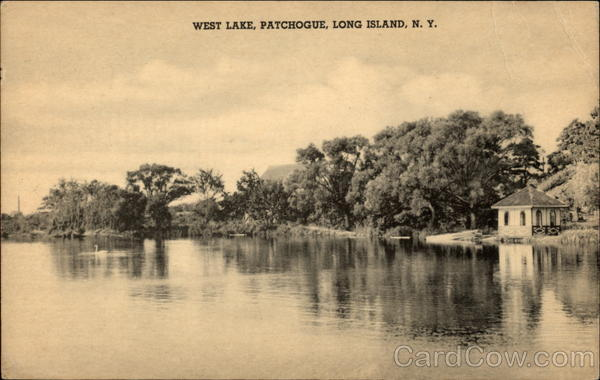 West Lake Patchogue Long Island New York