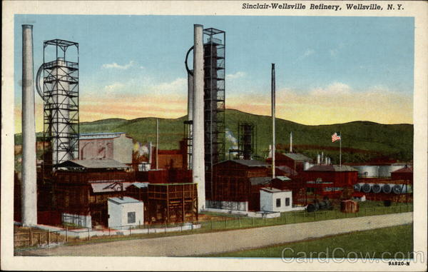 Sinclair-Wellsville Refinery New York