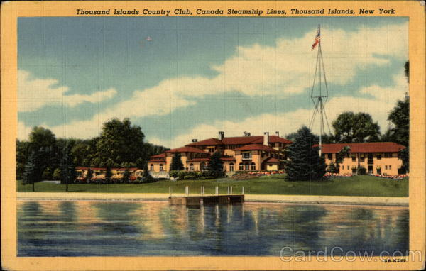 Thousand Islands Country Club, Canada Steamship Lines New York