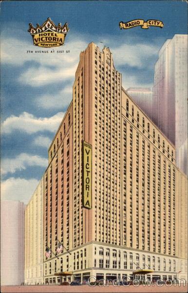 The New Hotel Victoria New York