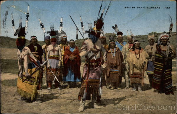 Apache Devil Dancers - M13 New Mexico Native Americana