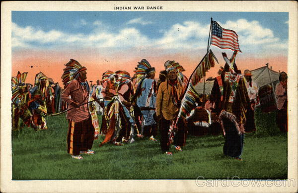 Indian War Dance Native Americana