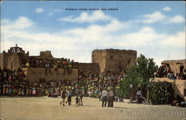 Pueblo Corn Dance and Fiesta Native Americana