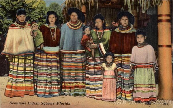 seminole indian squaws miami  fl native americana
