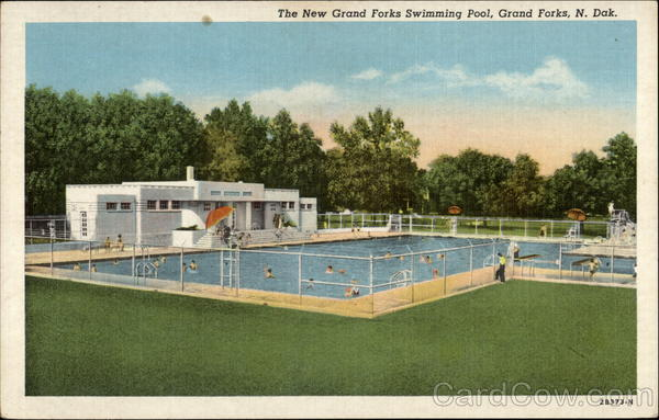 The New Grand Forks Swimming Pool North Dakota