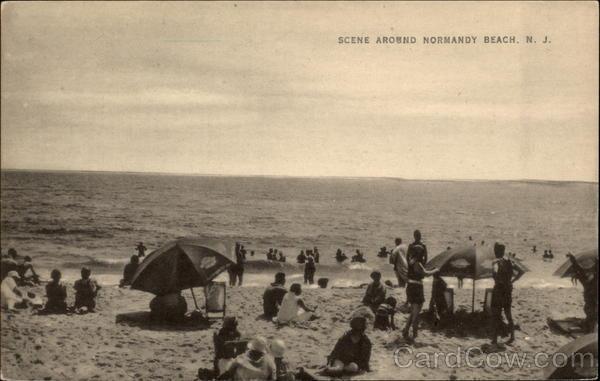 Scene Around Normandy Beach