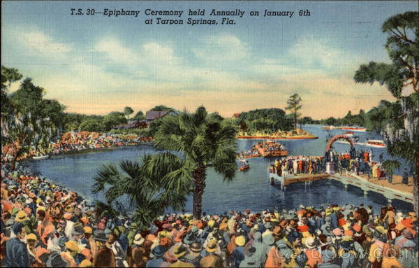 Epiphany Ceremony Tarpon Springs Florida