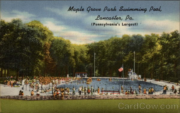 Maple Grove Park Swimming Pool Lancaster Pennsylvania