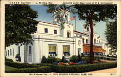 Ozark Baths - C. M. King, Mgr