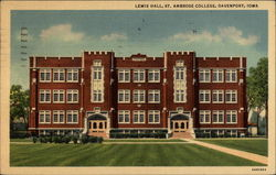 Lewis Hall, St. Ambrose College