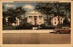 Arkansas War memorial (Old State Capitol)