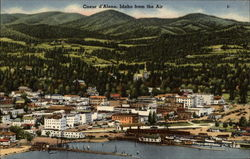 Coeur d'Alene from the Air