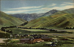 Summer Scene of Sun Valley, Idaho