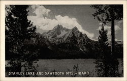 Stanley Lake and Sawtooth Mts