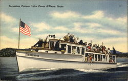 Excursion Cruiser, Lake Coeur d'Alene, Idaho