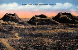 Spatter Cones Craters of the Moon Postcard