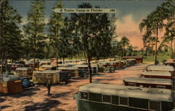 A Trailer Camp in Florida
