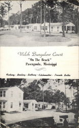 "Welch Bungalow Court ""On The Beach"""