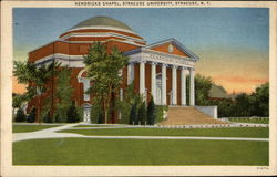 Hendricks Chapel, Syracuse University Postcard