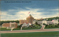 U.S. Marine Hospital Stapleton, drawing