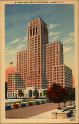 New York State Office Building Postcard