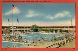 Pools at West Bathhouse, Jones Beach State Park