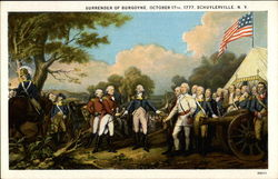 Surrender of Burgoyne, October 17th, 1777