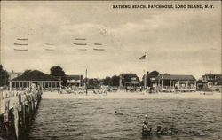 Bathing Beach at Patchogue