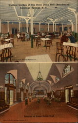State Drink Hall, Interior and Outdoor Garden