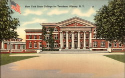 New York State College for Teachers Postcard